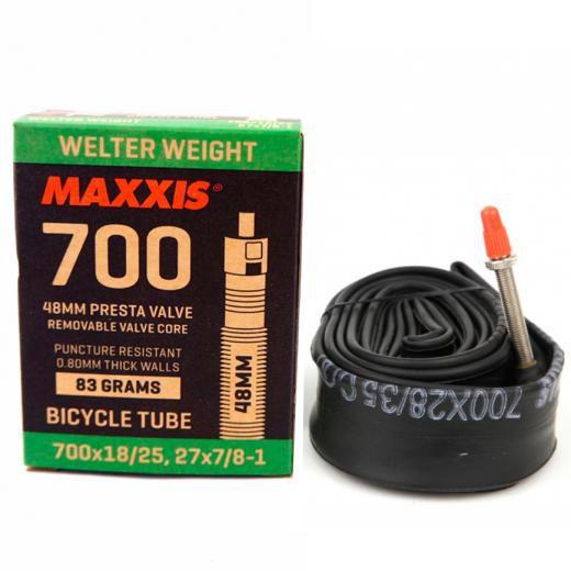 Camara de Ar Maxxis 700x18/25, 27x7/8-1