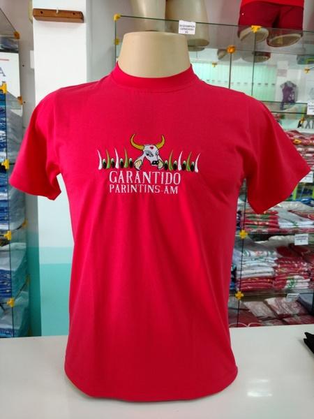 Camisa Garantido Bordada 01 - Q BOI Produtos do Festival de Parintins