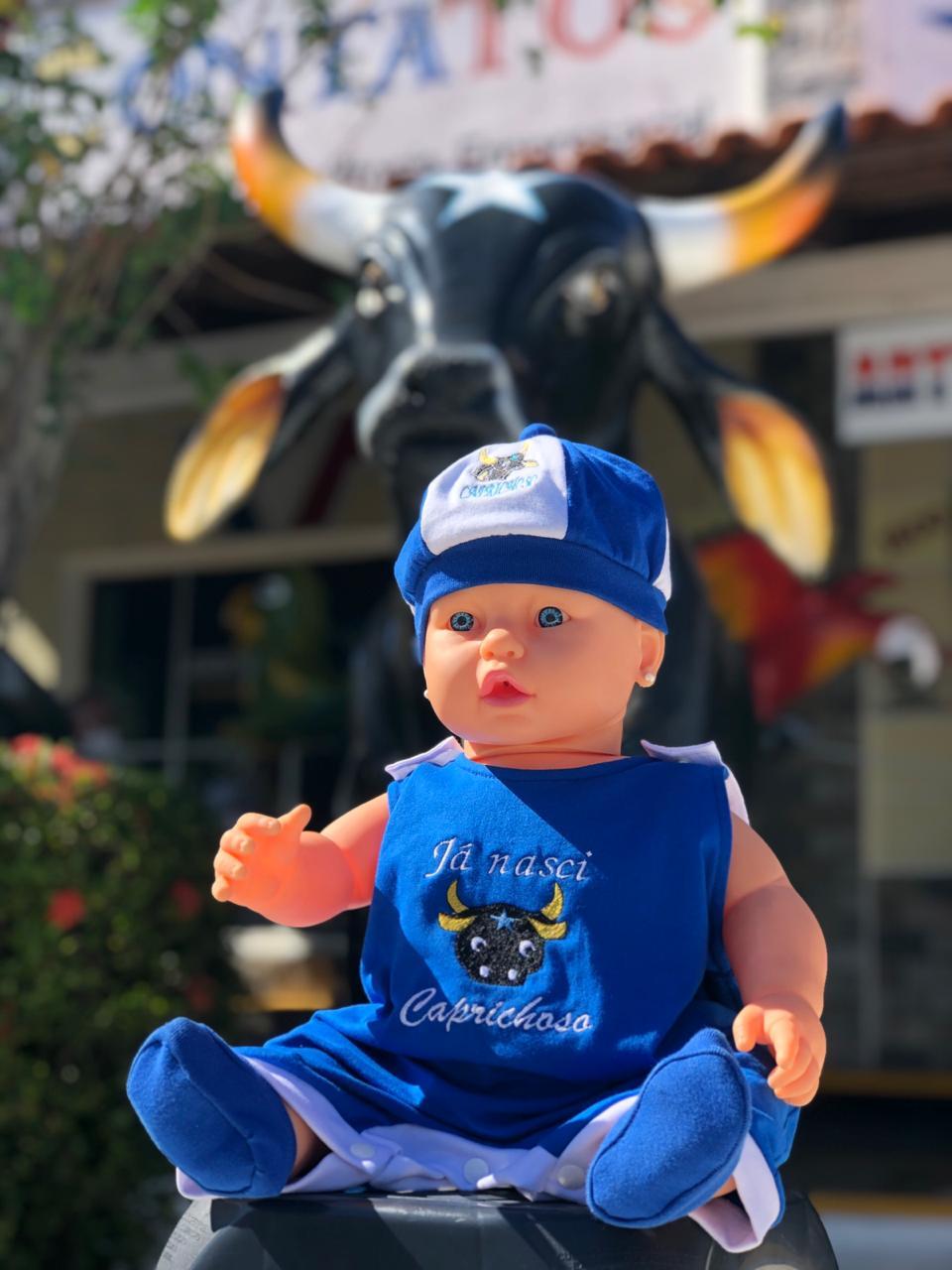 Body Baby Caprichoso - Q BOI Produtos do Festival de Parintins