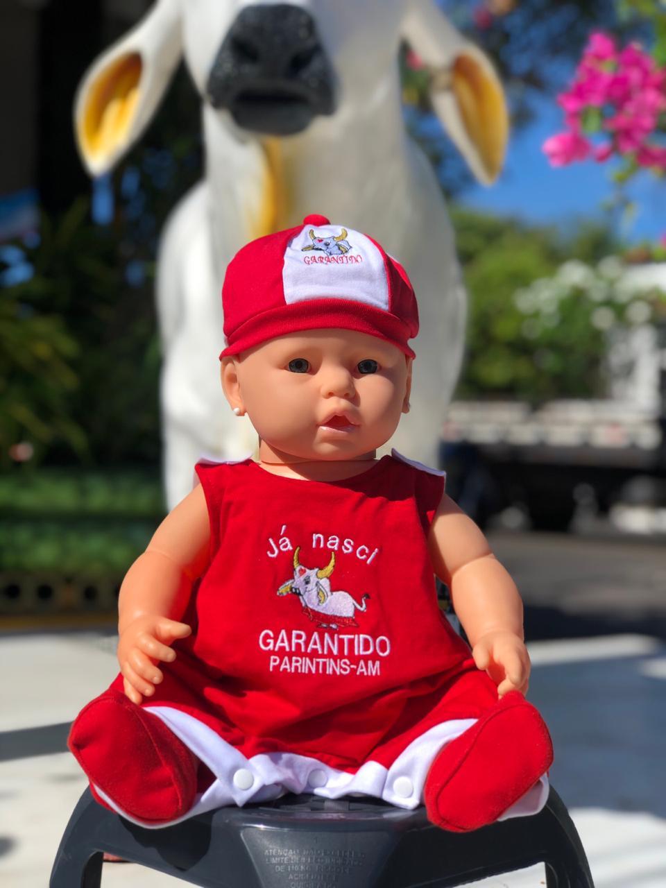 Body Baby Garantido - Q BOI Produtos do Festival de Parintins