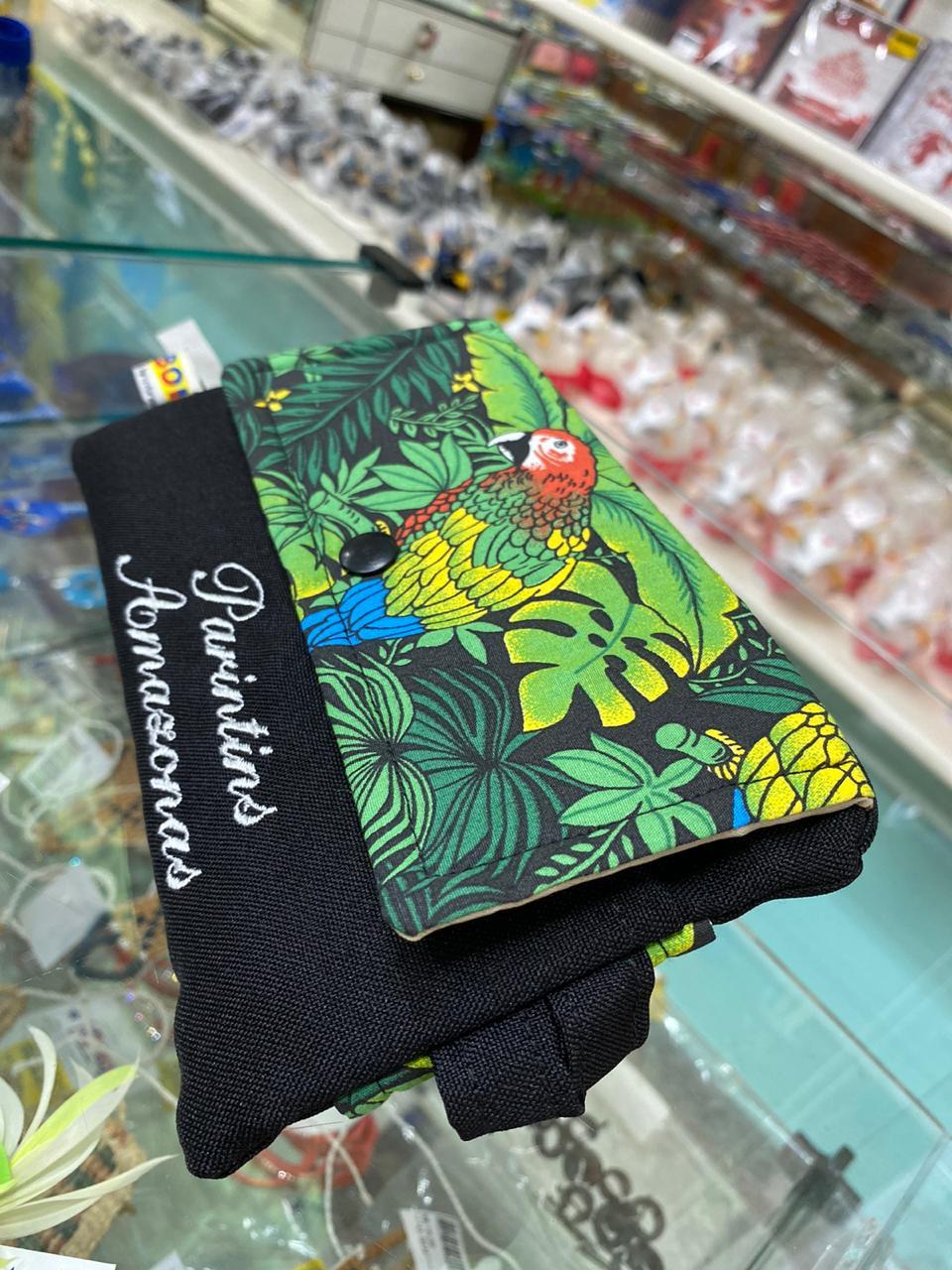 - Bolsa porta celular - Q BOI Produtos do Festival de Parintins