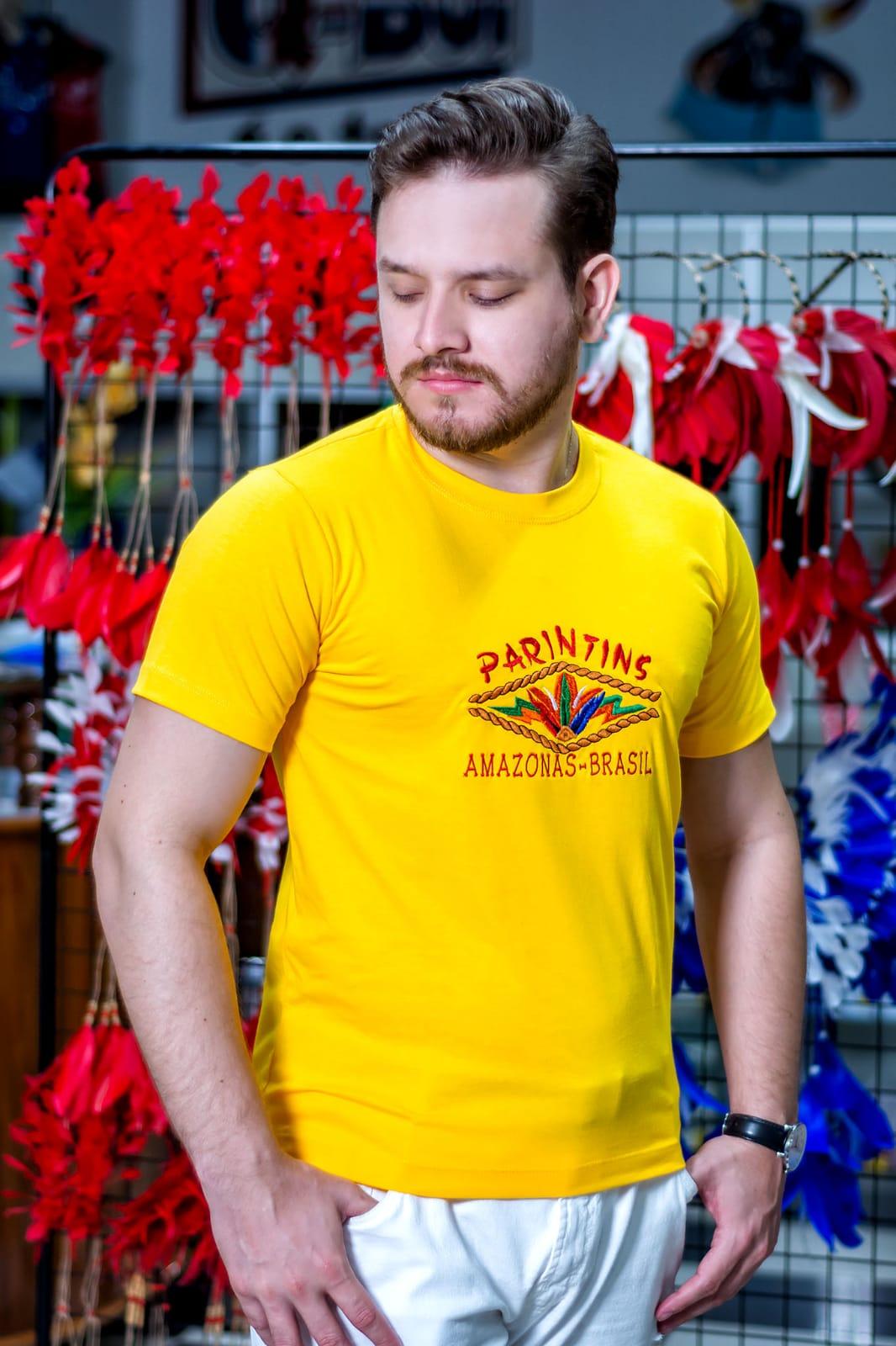 Camisa Básica Parintins 02 - Q BOI Produtos do Festival de Parintins