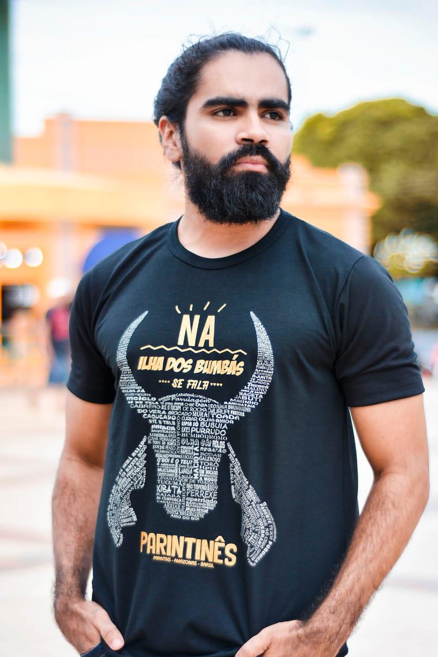 Camiseta Parintinês - Q BOI Produtos do Festival de Parintins