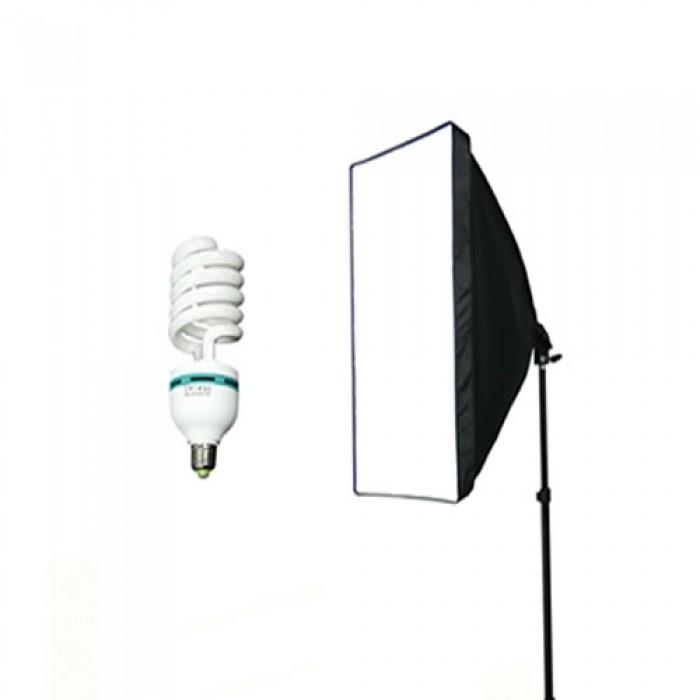 Softbox Com Lampada De 150W