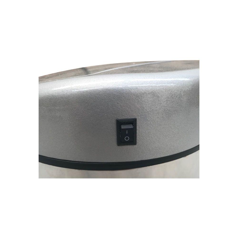 Lixeira Inox Automática De 3 Litros Com Sensor 3l