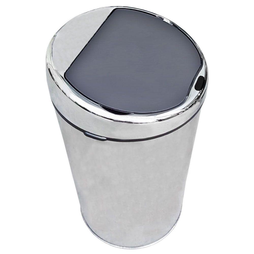 Lixeira Inox Automática De 6 Litros Com Sensor 6L