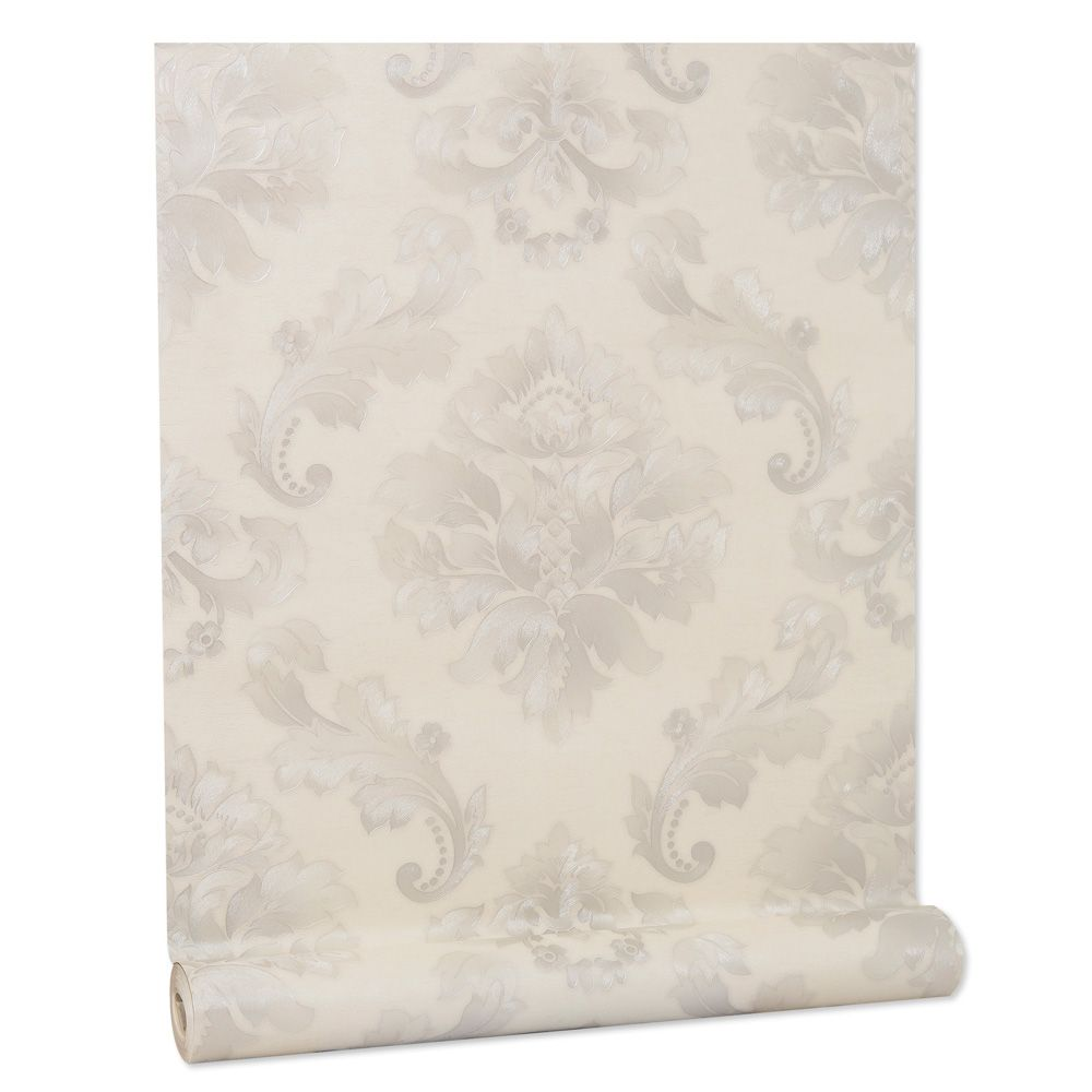Papel De parede vinílico texturizado lavável arabesco 5803