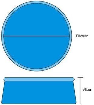 Protetor Aquecedor Solar Capa Aquecedora Piscina 366 Cm 3,66 m Intex #29022 - GIFTCENTER