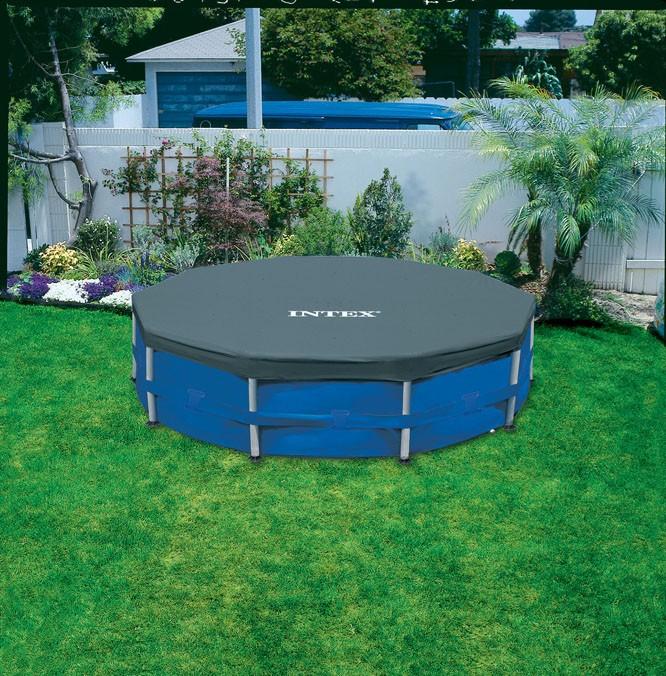 Capa Para Piscina Intex ESTRUTURAL 305 Cm 3,05 M Diametro #28030 - GIFTCENTER