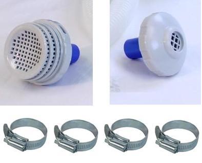 Kit Conexão Bomba Filtrante Intex 2006 3785 Filtro Conexões - GIFTCENTER