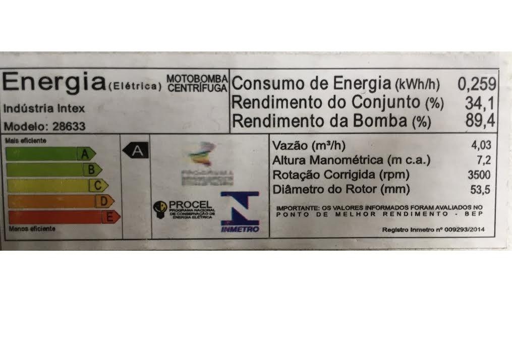 Bomba Filtrante Piscina Intex 9462 LH 110v #28633 - GIFTCENTER
