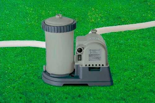 Piscina Intex 47241 Litros Completa Bomba Filtro 110v Capa Forro Escada #28261 - GIFTCENTER