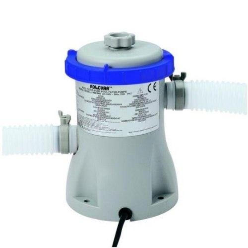 Piscina BestWay 2300 L + Bomba Filtrante 110v + Bomba de Inflar + Capa - GIFTCENTER