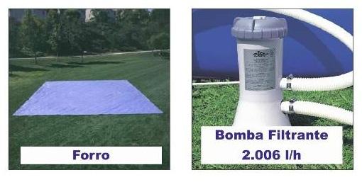 Forro 4,72 m + Bomba Filtrante Intex 2006 LH 110v - GIFTCENTER