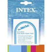Kit Intex com 06 Adesivos de Reparo Manutenção Inflável Boia Piscina Colchão #59631 - GIFTCENTER