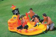 Piscina Inflavel PIRATA Intex com Bomba de Inflar - GIFTCENTER