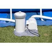 Piscina Intex 20647 Litros Completa Bomba Filtrante 110v Filtro Escada Capa - GIFTCENTER