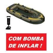 Bote Inflável Intex Seahawk 3 Pessoas 300 + Bomba de Inflar - GIFTCENTER