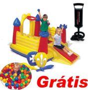 Piscina De Bolinhas Castelo Bomba Intex - GIFTCENTER