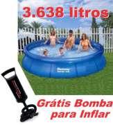 Piscina Bestway 3638 Litros com Bomba de Inflar Cod 57009 SBF - GIFTCENTER