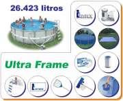 Piscina Intex 26423 L Estrutural Ultra Frame - GIFTCENTER
