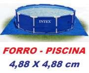 Forro Proteção Original INTEX Fundo Piscina 4,88 X 4,88 m - GIFTCENTER