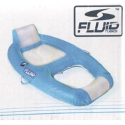 Poltrona Inflável Flutuante Pool Lounge Fluid Tubes - GIFTCENTER