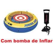 Trampolim Junior Jump 58287 Intex + Bomba de Inflar - GIFTCENTER
