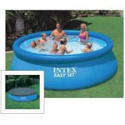 Piscina Intex 5621 Litros Std + CAPA SBF - GIFTCENTER