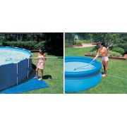 Piscina Intex 4485 L com Bomba Filtrante 110v + Capa + Forro + Kit de Limpeza - GIFTCENTER