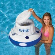 Bar Cooler Flutuante Intex #58820 + BOMBA DE INFLAR - GIFTCENTER