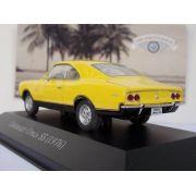 Miniatura Chevrolet Opala SS 1976 Amarelo Escala 1:43 Altaya - GIFTCENTER