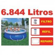 Piscina Bestway 6665 Litros + Bomba Filtrante 110v EXT - GIFTCENTER