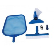 Kit de Limpeza BÁSICO Intex ( com escova, peneira e aspirador, sem cabo ) BASICO - GIFTCENTER