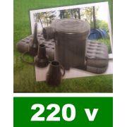 Bomba de Inflar Elétrica modelo CRF 220v - GIFTCENTER