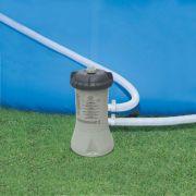 Piscina Intex 6836 Litros Retangular Estrutural com Capa Forro Escada Bomba Filtro 110v #28349 - GIFTCENTER