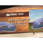 Barraca Familiar Ozark Trail Azul 08 Pessoas Quartos 4,87 2,74 M - GIFTCENTER