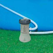 Piscina Intex 6836 Litros Retangular Estrutural com Capa Forro Escada Bomba Filtro 220v #28350 - GIFTCENTER