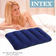 Travesseiro Inflável INTEX para Casa ou Camping - GIFTCENTER