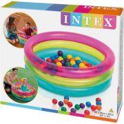Piscina de Bolinhas Intex Infantil Multi Color 86 cm X 25 cm com 50 Bolinhas #48674 - GIFTCENTER