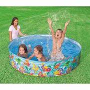 Piscina Infantil 1000 L Ocean Play Intex - #56452 NP SNAPSET Snap Set - GIFTCENTER