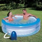 Piscina Bestway 768 Litros Spa Relaxante Bubble Play Pool Inflável 220v - GIFTCENTER