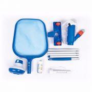 Piscina Bestway 2300 Litros + Kit de Limpeza Aspirador Peneira Flutuador Fitas de Teste de pH Termômetro - GIFTCENTER