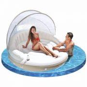 Ilha Relaxante com cobertura Lounge Spa Intex #58292 - GIFTCENTER