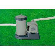 Bomba Filtrante Intex 9462 LH 110v + Par de Adaptadores B + Coadores e Conexões - GIFTCENTER