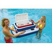 Bar Cooler Flutuante Intex Família Grande 72 Latas #58821 + Bomba de Inflar - GIFTCENTER