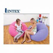 Poltrona Beanless Juvenil Intex Roxo Puff #68569 - GIFTCENTER
