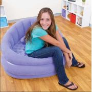 Poltrona Lounge Juvenil Puff Roxo #68563 Intex - GIFTCENTER