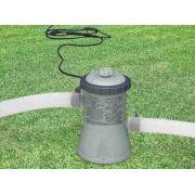 Bomba Filtrante Piscina Intex 1250 Lh 220v + 03 Filtros ( 2 + 1 ) - GIFTCENTER