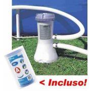 Bomba Filtrante Piscina Intex 3785 L/H 110v + 03 Filtros ( 2 + 1 ) - GIFTCENTER